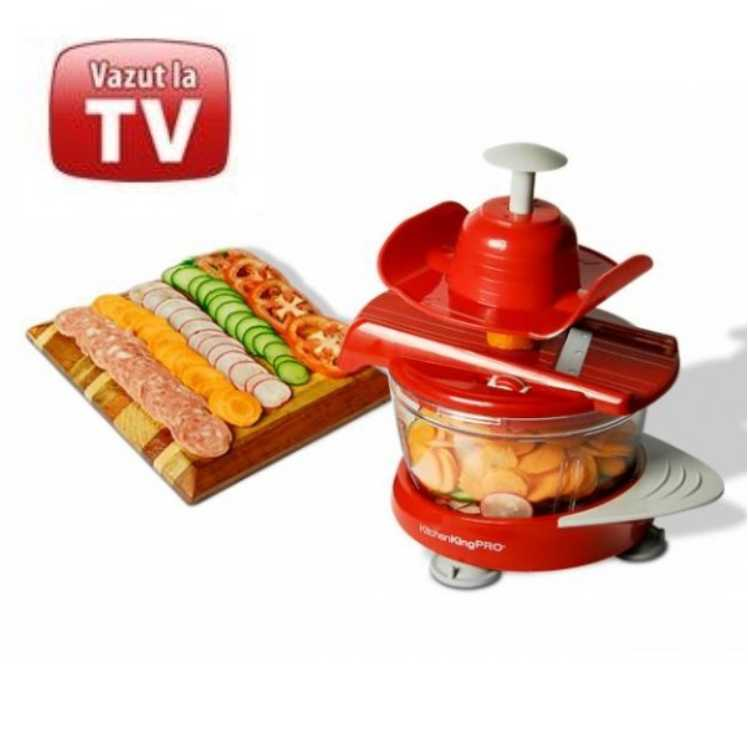 Aparat multifunctional - Kitchen King Pro