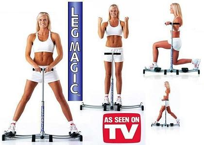 Leg Magic + Dvd exercitii -Aparat fitness